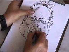 caricatures drawing tutorials - draw caricature step by step