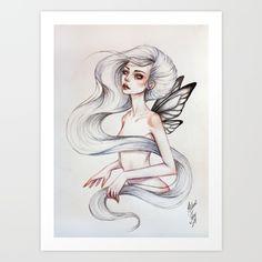 butterfly, girl, mystic, fairy
