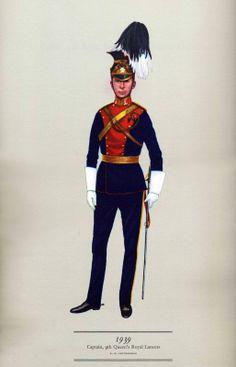 Hugh Evelyn - Cavalry Uniforms of the British