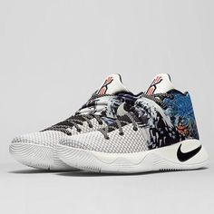 abab32470ea2 Nike Kyrie 2 The Effect Mens Basketball Shoes 8 Tie Dye Multi-color 819583  901