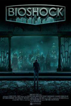 Bioshock Movie Poster Fan-Made via Reddit user memo210