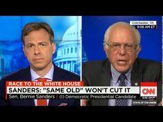 Bernie Sanders on CNN's State of the Union... - VIDEO - http://holesinthefoam.us/bernie-sanders-on-cnns-state-of-the-union-video/