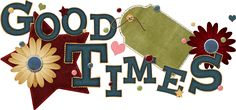 "word art png | ... Elements: Free ""Good Times"" Digi Scrapbook Word Art from Kit 41"