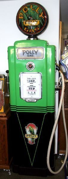 Antique Gas Pump Fully Restored