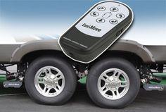 Easi Move Remote Control Travel Trailer Mover http://savagecamper.com/easi-move-travel-trailer-mover/