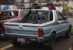 BRAT! Old Gen Subaru Meet in Portland, OR by Kevin Talley, via Flickr