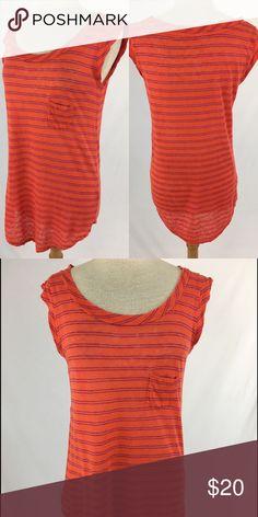 Alternative tee SKU: 15678 Length Shoulder To Hem: 30 Bust: 40 Waist: 36 Fabric Content: 100% linen Alternative Tops Tees - Short Sleeve