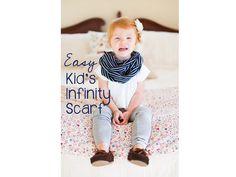 Easy Kids Infinity Scarf