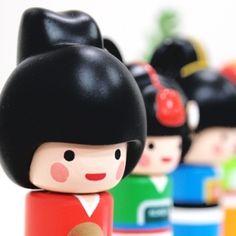 [Stationery (Fancy)] Korea goods – character stamp (4type) $19 on kstargoods.com