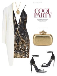 """Untitled #24"" by zizisrotterdam on Polyvore featuring 2028, Yves Saint Laurent, Alexander McQueen and Alexander Wang"