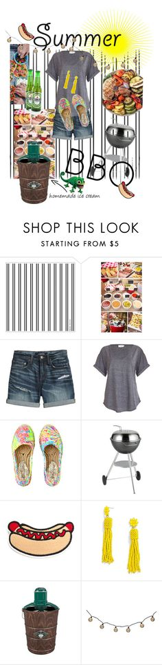 """""""Casual summer bbq"""" by nicole-leaann ❤ liked on Polyvore featuring interior, interiors, interior design, home, home decor, interior decorating, Canvas by Lands' End, Lilly Pulitzer, Dancook and BaubleBar"""