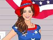 Free Online Girl Games, There is a big July 4th barbecue followed by a giant fireworks show, and you want to make sure you look ready to celebrate!  In 4th of July Makeover, you'll have to find the perfect outfit, makeup and more!  See what kind of stylish, patriotic outfits you can create!, #makeover #dressup #holiday #girl #makeup