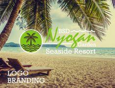 Logo Branding, Branding Design, Label Design, Graphic Design, 3d Presentation, Resort Logo, Seaside Resort, Ebook Cover, Social Media Design