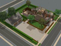 The Brady Bunch House! Downstairs Layout | Brady House | Pinterest