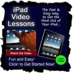 iPad Video Lessons http://smb04.com/ipad-video-lessons1