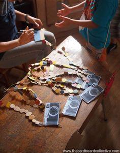 entire cardboard blog. DIY Cardboard Camera by Amber