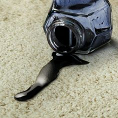 How to remove ink from your carpet. #stains #DIY #howto #tips #hints #carpet