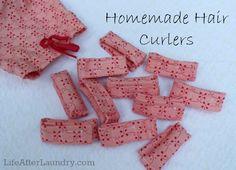 Homemade Hair Curlers