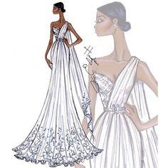 Hayden Williams Brides Look 3