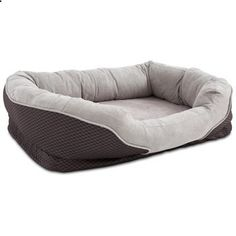 Petco Orthopedic Peaceful Nester Gray Dog Bed. Check website for more description.