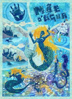 Poster Mãe D'Agua