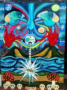 """""""Celeste""""  Morada do Espírito. Vento, água, nuvem, coração."""