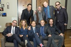 "The cast of ""Sons of Anarchy"" commandeered CONAN on November 11, 2014."