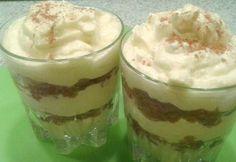 Almás-mascarponés túrókrém cukormentesen Stevia, Pudding, Food, Yogurt, Custard Pudding, Essen, Puddings, Meals, Yemek