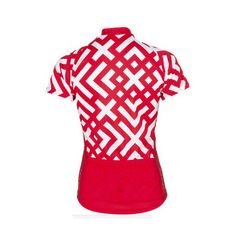 bicycle outdoor cycling wear red jacket sleeve shirt woman bike sport jersey…