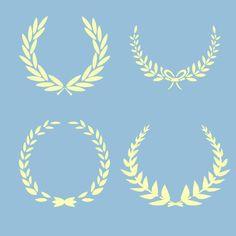 .wreath stencils - Google Search