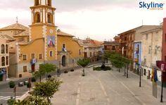 Live Cam #Bullas - Plaza de España. #Spain #Travel #Livecam