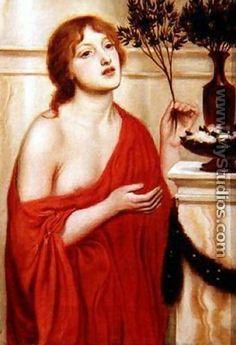 In the Temple of Venus - Simeon Solomon
