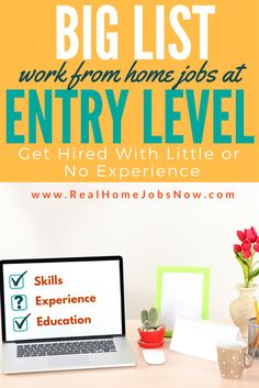 How to get entry level work from home jobs is a concern for many, but no need for worry. Lack of experience does not exclude you from working from home. Work From Home Jobs, Make Money From Home, Way To Make Money, Make Money Online, Windows Xp, Iowa, Idaho, Online Job Opportunities, Herbs