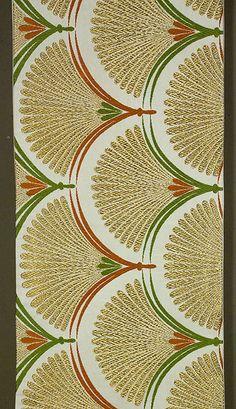Japanese Fukuro Obi, Mid 1980s Gold and silk brocading on ivory silk satin