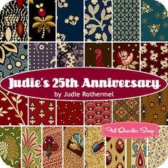 Judie's 25th Anniversary Yardage Judie Rothermel for Marcus Brothers Fabrics