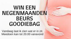 Win een Negenmaandenbeurs Goodiebag