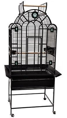 Kings-Cages-LUX-2822-Parrot-Cage-28X22X66-bird-cages-toy-toys-african-grey