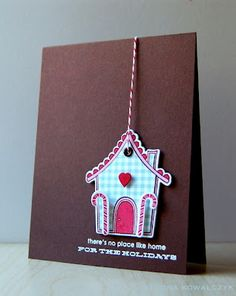 No Place Like Home Card by Cristina Kowalczyk for Papertrey Ink (September 2012)