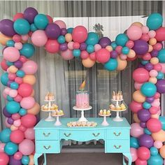 ❤️@stylish_events_decorations using @RepostRegramApp - A cute birthday setup…