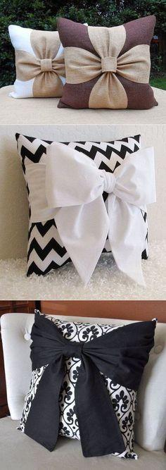 Las almohadas decorativas con bantikami. Las ideas para la inspiración. #diypillowcoversembroidery