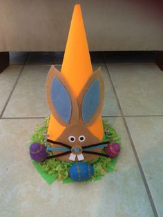 Easter hat! #easter #bunny