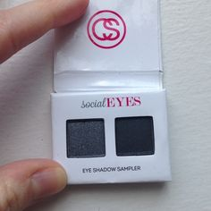 Black & Silver Style Eyes Shadow Sampler Pretty shimmery deep silver and black eye shadow samples from coastal scents. Deluxe sample size, never used! Coastal Scents Makeup Eyeshadow