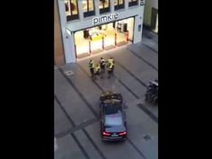 Munich Attack: Police Swat Team Combs The City Centre For Suspect in The...