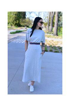 Šaty Helene Grey Mel. Shirt Dress, Grey, Shirts, Dresses, Fashion, Buga, Gray, Vestidos, Moda