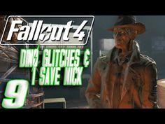 Fallout 4 | 9 | DINO GLITCHES & I SAVE NICK!