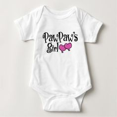 PawPaws Girl Baby Bodysuit - baby gifts child new born gift idea diy cyo special unique design