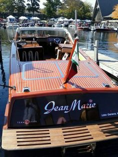 2014 antique boat show at the Abbey on Lake Geneva