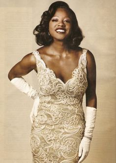 Viola Davis. We need more of this glamour in your movies please.