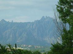 Muntanya de Montserrat de més a prop