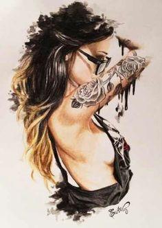 Elle Wills #illustration #painting #drawing